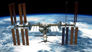 NASA/ESA International Space Station ISS Live Earth View With Tracking Data - 44