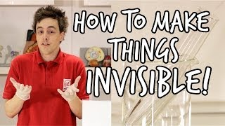 How to make something invisible