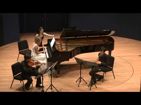 Russell Peterson: Trio for Viola, Sax & Piano- Hanchao Jiang, Guillaume Leroy, Marina Di Giorno 1/3