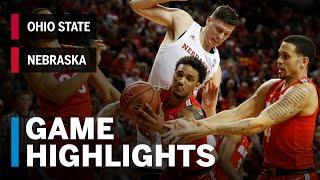 Highlights: Ohio State at Nebraska | Big Ten Basketball
