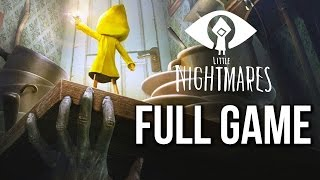 Little Nightmares Gameplay Walkthrough FULL GAME (no commentary)
