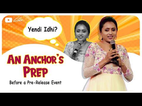 Vlog: Suma Kanakala reveals secret tips for hosting movie pre-release events successfully