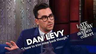 Dan Levy Loves To Embarrass His Father Eugene