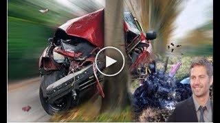 Paul Walker 3 mint before his car crash 11 30 2013