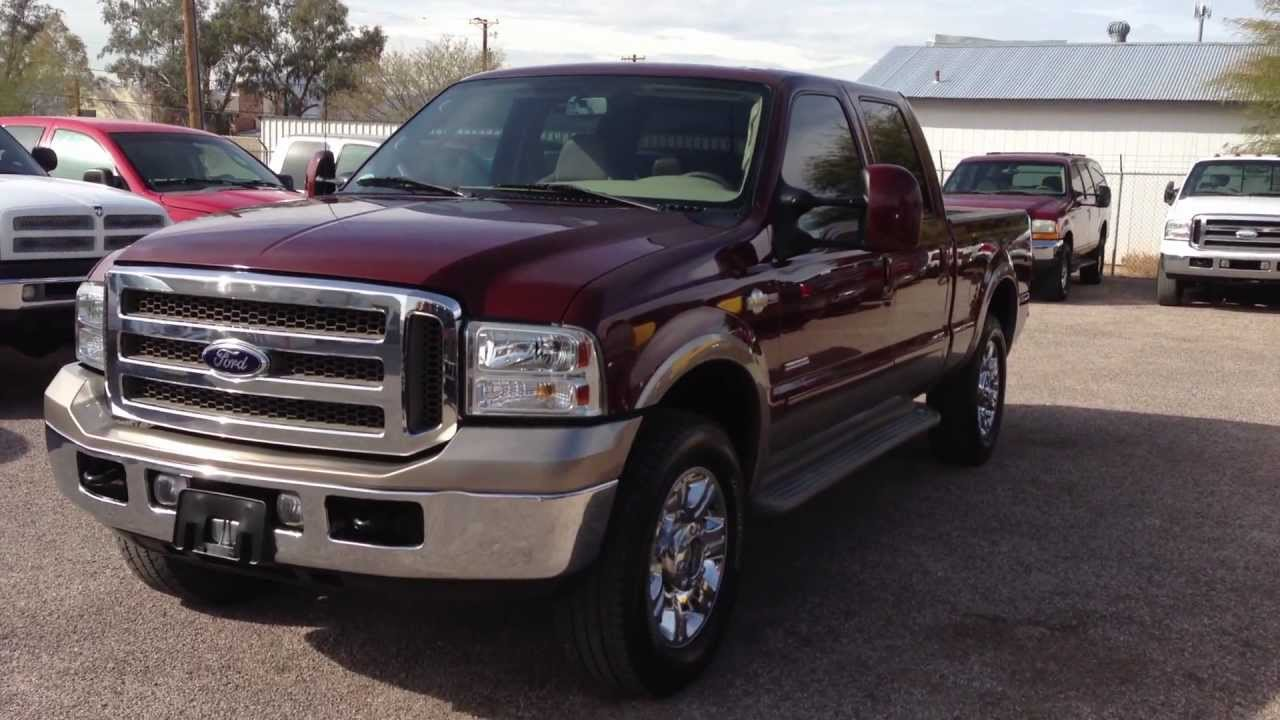 2006 ford f250 diesel king ranch youtube. Black Bedroom Furniture Sets. Home Design Ideas