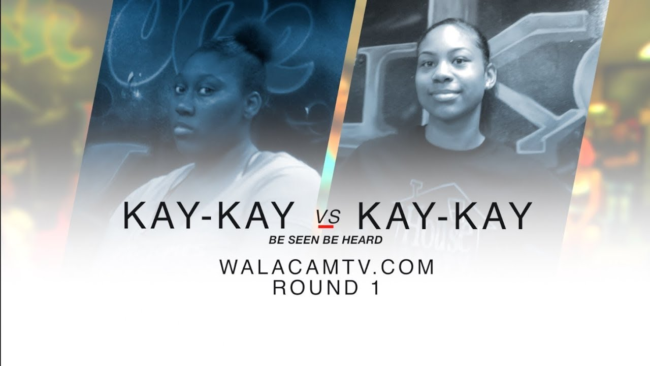 WALACAMTV ITS ON!!! ''HIP ROLL BATTLE'' KAY KAY VS KAY KAY ROUND 1 @ FINAL PHAZE /DA WARZONE!