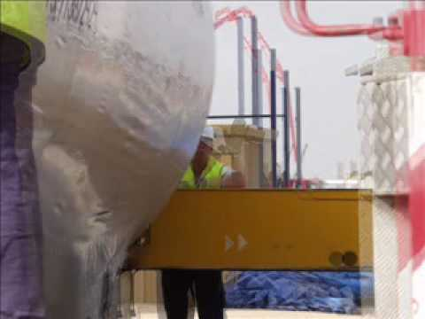 SCS Heavy Lifts (www.scsheavy.com) - vessel installation in Spain