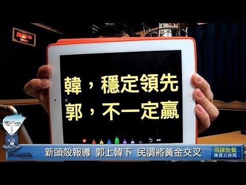 '19.05.13【觀點│陳揮文時間】韓國瑜民調領先柯12%,郭台銘只贏柯1%