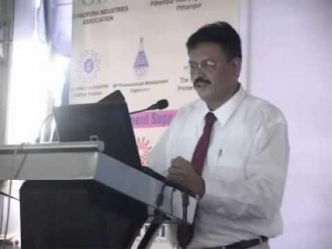 Indore PharmaTechExpo Speech by Lokesh Patel