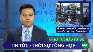 Tin nóng 24h 16/01/2019    Công An chuẩn bị xử lý 20 người bị cho là gây rối trật tự vụ Lộc Hưng