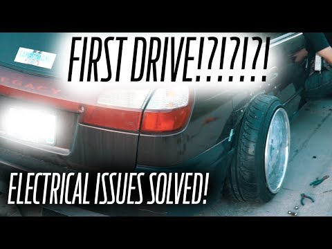 SUBARU LEGACY SHOW CAR BUILD EP 8 // Electrical issues SOLVED!!