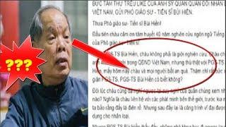 Tâm thư của sĩ quan QĐND Việt Nam gửi PGS Bùi Hiền nhận mưa lời khen từ dân mạng - News Tube