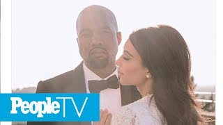 Kim Kardashian Shares Never-Before-Seen Kanye West Wedding Photo   PeopleTV