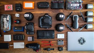 What's in my CAMERA BAG?! 2018
