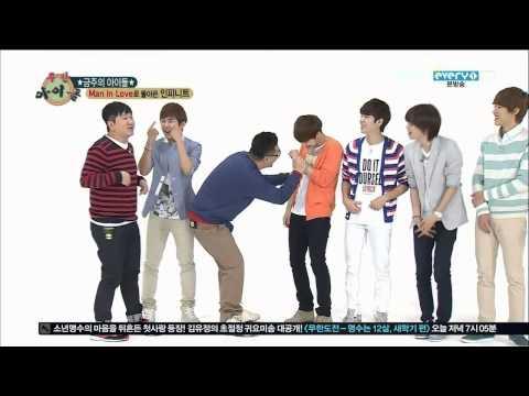 [ENG SUB] 130501 Infinite - Weekly Idol (1)