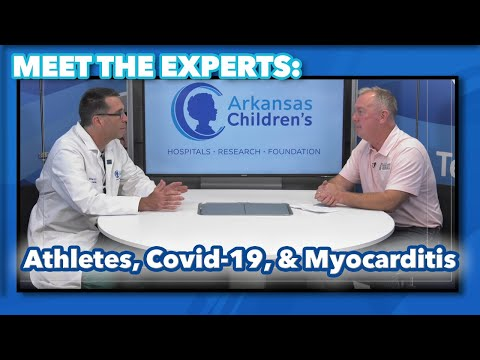 Meet the Experts: Athletes, COVID, & Myocarditis. Are there lingering symptoms from COVID-19?