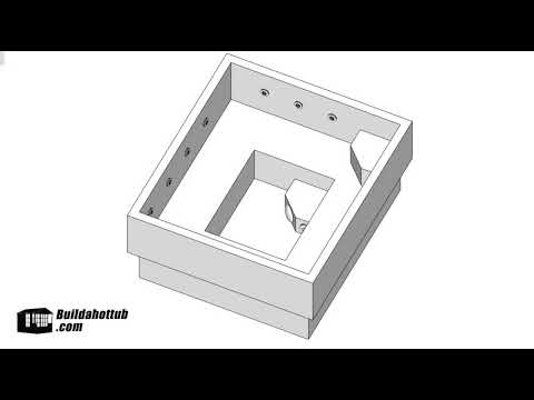 video 6′ x 6′ Dimensional & Plumbing, Shopping List & Instructions (Imperial)
