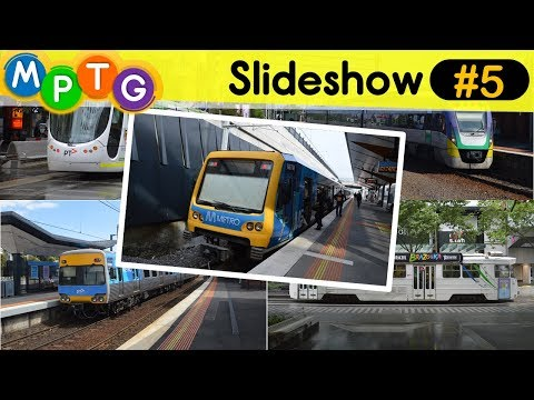 Melbourne's Metro Trains and Trams (Slideshow #5)
