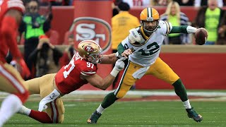 What Happened to Aaron Rodgers in the NFC Championship Game?