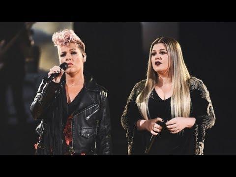 Kelly Clarkson & P!nk