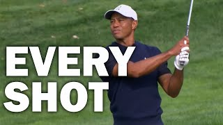 Tiger Woods Opening Round at the 2020 US Open | Every Shot