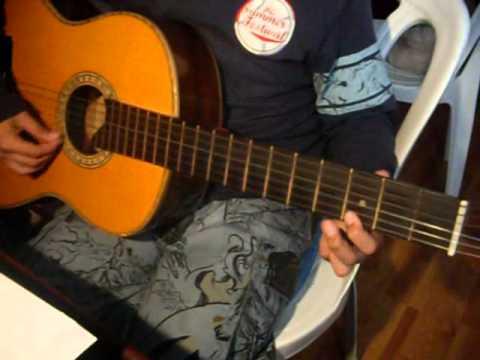 tutorial de como tocar los sonidos del silencio quitarra New