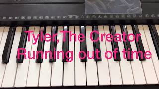 Tyler,The Creator-Running out of time Piano Tutorial