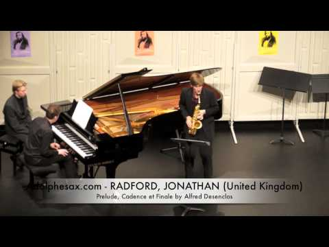 Dinant 2014 - Jonathan Radford Prelude, Cadence et Finale by Alfred Desenclos