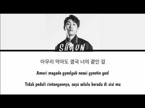 ( INDO SUB ) SHAUN (숀) – Way Back Home (집으로 가는 길) Lyrics/가사 [Color Coded Han_Rom_Ind]