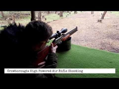High Powered Air Rifle Shooting Experience - Sussex