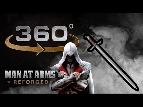 Sword of Altair Demo in 360° - Assassin's Creed - MAN AT ARMS: REFORGED by AWE me