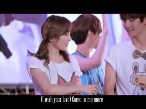 [120818] Baekhyun and Taeyeon cute moments at SMTown - Ver 1