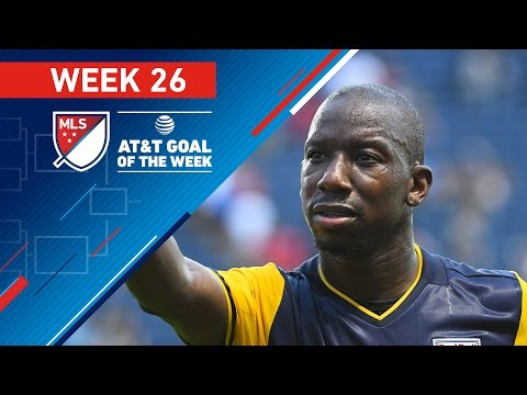 AT&T Goal of the Week | Vote for the Top 8 MLS Goals (Wk 26)