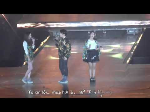 [Vietsub] 131224 Goodbye Summer - f(x) ft. D.O. SM Town WEEK