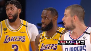 LAKERS vs CLIPPERS - 3rd Qtr Highlights | NBA Restart