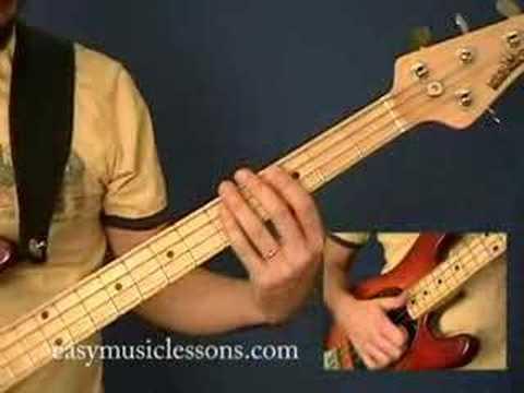Slap Bass Lessons - EasyMusicLessons.com