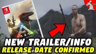 ARK NEW Trailer NIntendo Switch Release Date Confirmed! DLC Info - Should You Buy It?