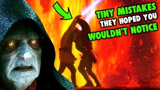 7 EMBARRASSING Mistakes they Hoped You Wouldn't See | Star Wars Explained