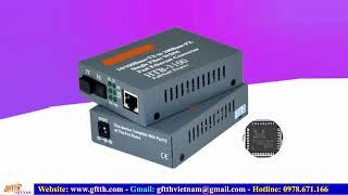 Thiết bị chuyển đổi quang chính hãng NETLINK HTB-3100A/B- HTB-1100AB