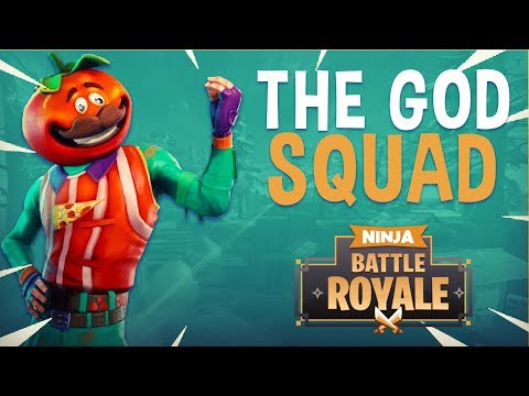 The God Squad! - Fortnite Battle Royale Gameplay - Ninja