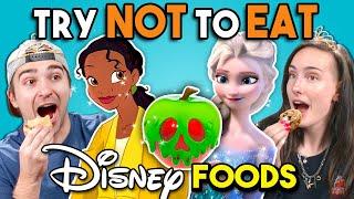 Try Not To Eat Challenge - Disney Princess Food | People Vs. Food