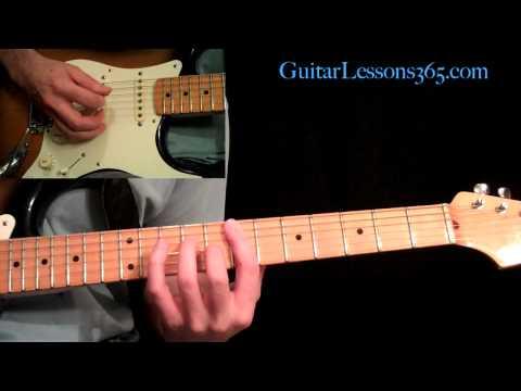 Panama Guitar Lesson Pt.1 - Van Halen - Intro