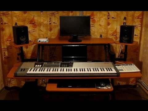 my new studio desk - Music Production Desk