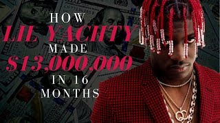 How Lil Yachty Made $13,000,000 in 16 Months