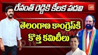 Breaking News: Revanth Reddy is T- Cong working president..