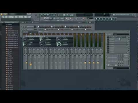Como hacer una Base de Rap en Fl Studio 10 (2013)