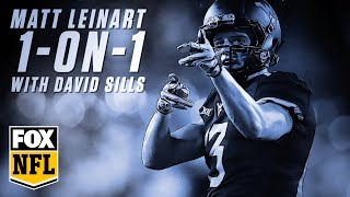 Matt Leinart goes 1-on-1 with NFL prospect David Sills V | FOX NFL