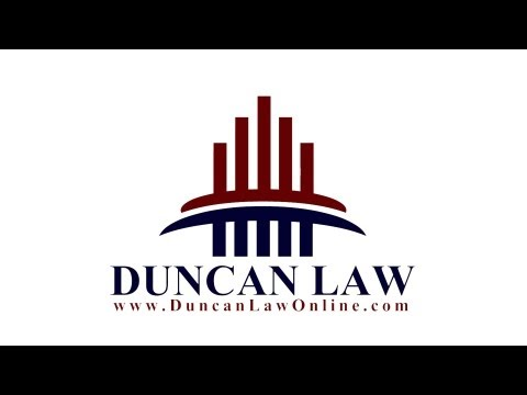 This is our YouTube channel for Duncan Law, LLP.
