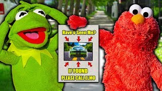 Kermit the Frog and Elmo LOSE Their Brand New Sports Car!