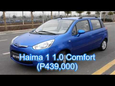 TOP 10 Cheapest Cars in the Philippines